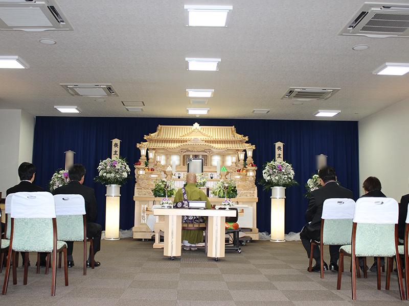 式場と祭壇①